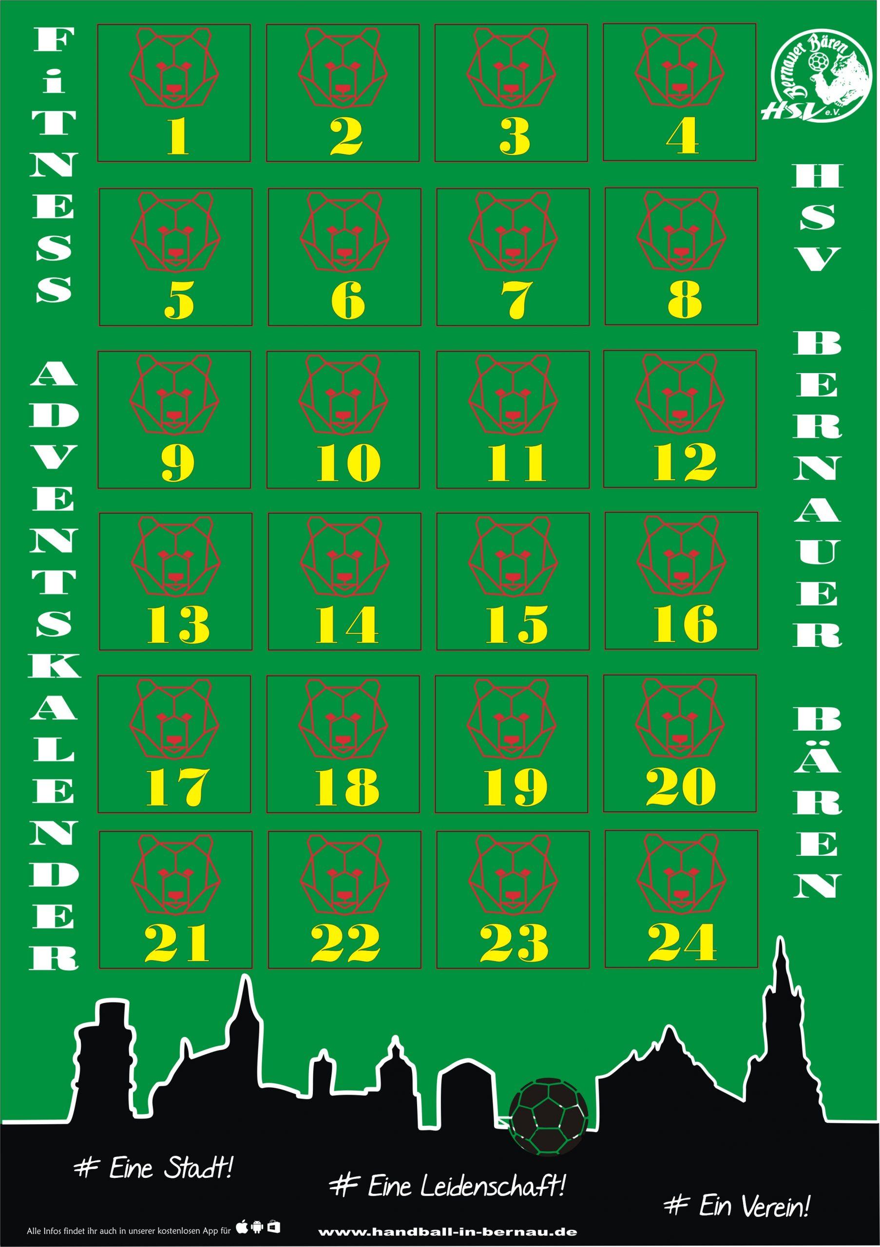 HSV wünscht schöne sportliche Adventszeit
